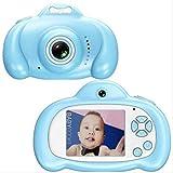 Toys Camera Mini 2.0 Pulgadas HD IPS Screen Niños Cámara para niños 1080P Video Recorder Flash Photo 12MP Videocámara para niños Regalo sin Tarjeta Azul