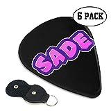 ギターピック Sade ギター アクセサリー 6枚セット 製エレキギター トライアングル プレクトラム 弦楽器 プレゼント ィックギター 初心者 スリップレス Guitar Pick ギター用 収納ケース付き