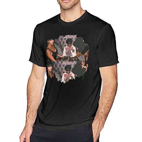 Rockboy Playboi Carti Die Lit Camiseta Confort Hombre Negra