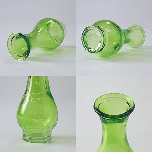 SPICEOFLIFE(スパイス)花瓶タイニーガラスフラワーベースNo.02グリーン直径5cm高さ11cmNALG5020GR