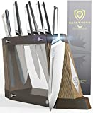 DALSTRONG - 8-Piece Knife Block Set - Crusader Series - Forged Thyssenkrupp High-Carbon German Stainless Steel - w/Magnetic Sheath - NSF Certified