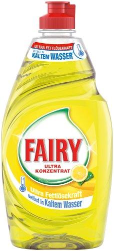 Fairy Handspülmittel Zitrone, 6er Pack (6 x 450 ml)