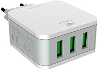 Carregador AC-USB Universal C3 Tech, bivolt automatico, 3.1A, UC-315WH branco