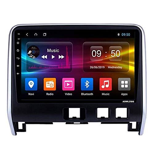 WY-CAR Reproductor Multimedia De Navegación GPS con Pantalla Táctil De 10.1 Pulgadas para Nissan Serena 2016-2018, Bluetooth/GPS/USB/SWC/FM/RDS/Mirror Link/Cámara De Visión Trasera