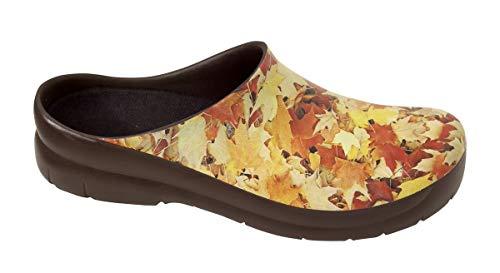 Alpro Picture Damen Clogs PU, Autumn Brown, Größe 36 mit schmalem Fußbett