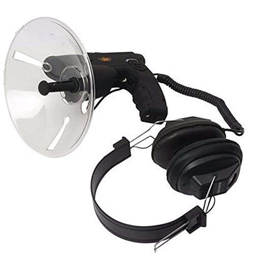 Nomi Micrófono Parabólico Monocular, Antena Direccional con Antena Satelital Direccional X8, Utilizado para Equipos Naturales para Caminar, Cazar, Pescar Y Acampar