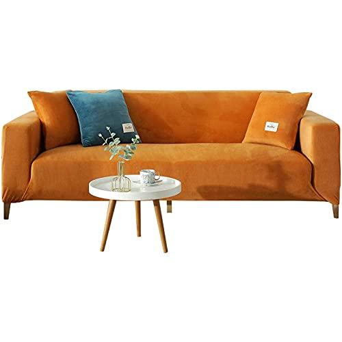 XHNXHN Funda de sillón suave y para niños, cubierta de tela elástica, funda de sofá, muebles, funda de sofá de alta elasticidad, cubierta de tela universal todo incluido-A_235-300cm