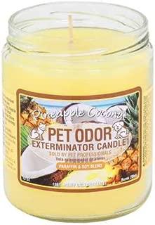 Pet Odor Exterminator Candle Pineapple Coconut