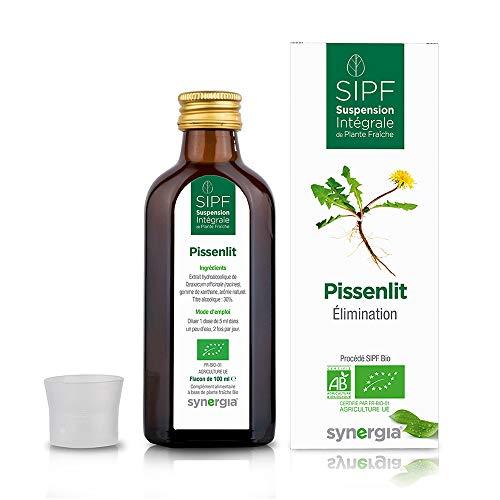 Pissenlit bio français Solution buvable de plantes fraîches Diurétique Origine France certifiée Certifié AB