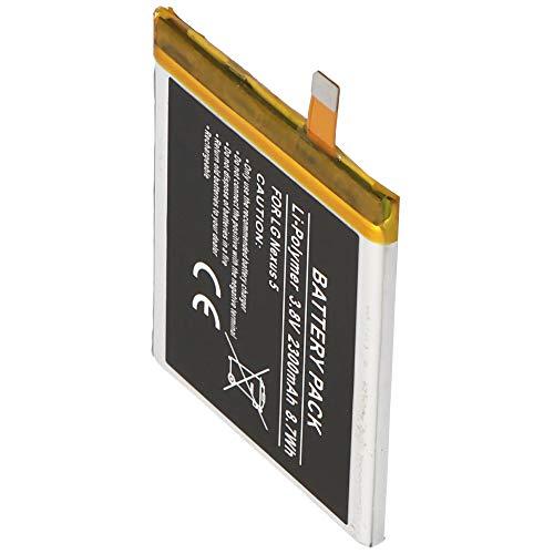 Batería de polímero de Litio para LG Nexus 5, BL-T9, LG D820, D821 (2300 mAh)