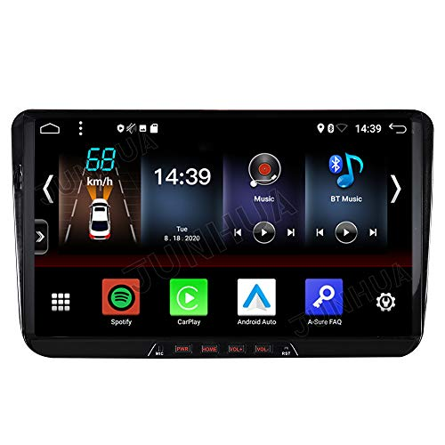 Android 10 2GB+32GB Carplay+Android Auto 2-Tuner Autoradio DSP Bluetooth 5.0 9