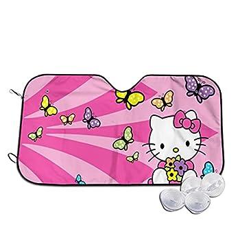 Hello Kitty Car Windshield Sunshade Front Window Sunshade Uv Protection Car Sunshade