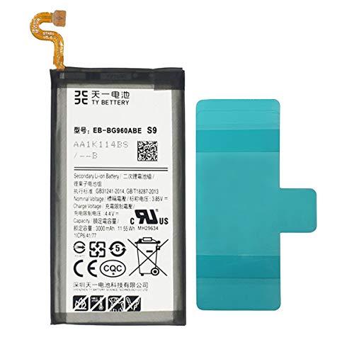 [TY BETTERY] Bateria Compatible con EB-BG960ABE Samsung Galaxy S9