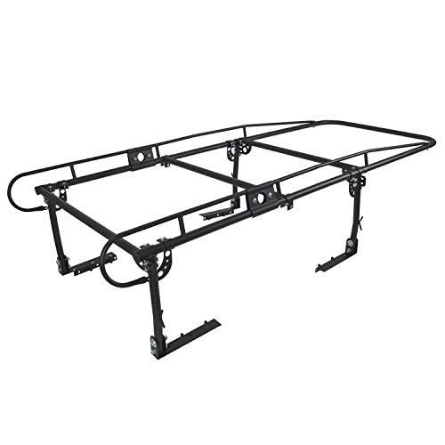 ECOTRIC Adjustable Full Size Truck Contractor Ladder Pickup Lumber Utility Kayak Rack(Notice:You Will Receive Two Packages for This Item)