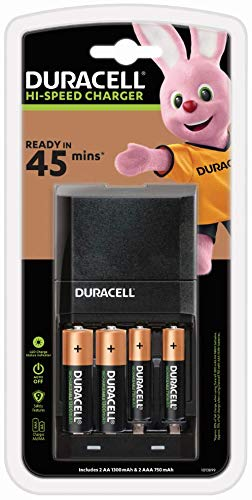 Duracell Battery Charger - Charges in 45 Minutes, Coming...