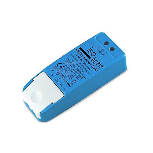 Isolicht Trafo 12V/AC - 0-105VA - dimmbar | LED Trafo - Treiber - Transformator - Netzteil geeignet für LED Beleuchtung