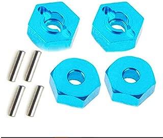 Goolsky 4pcs 1//10 12mm Rueda Alumium Tuercas hexagonales con Pernos Tornillos para 1//10 Traxxas Tamiya LRP HSP HPI Redcat WLtoy RC Coche
