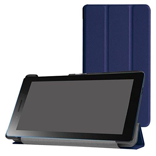 MAMA MOUTH Lenovo Tab 3 A7-30 Ultra Funda, Ultra Slim Ligera PU Cuero con Soporte Funda Caso Case para 7