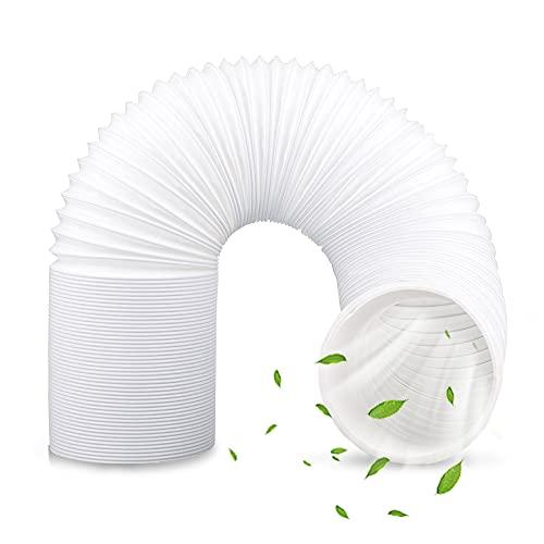 Punvot Abluftschlauch, Abluftschlauch Klimaanlage 150mm, Abluftschlauch Klimaanlage Fenster, Lüftungsschlauch, Abluftrohr, Abluft Haube Schallgedämmter Wärmeisolierung 1,5 Meter für Klimagerät