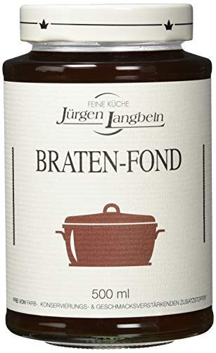 Jürgen Langbein Braten-Fond, 6er Pack (6 x 500 ml)