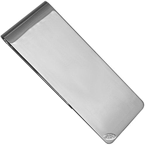 SILBERKANNE Geldklammer Money Clip 5x2,3 cm Silber 925 Sterling in Premium Verarbeitung