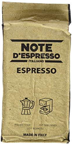 Note D'Espresso Espresso Vakuumverpackter Kaffee, 250g x 4 Pakete