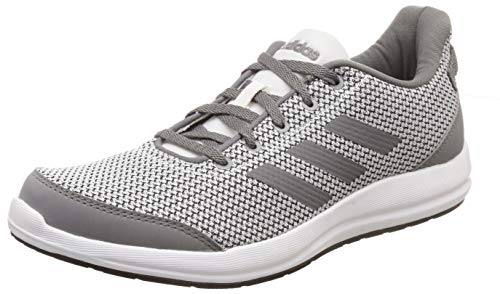 Adidas Men's Glick M FTWWHT/VISGRE/CBLACK Running Shoes-8 UK/India (42 EU) (CK9522_8)
