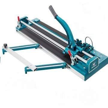 Moracle Cortador de Azulejos de 800 mm 1000mm Cortador de Azulejos Manual de Doble Riel Cortador de Azulejos Manual Herramientas de Corte de Azulejos Manuales para Corte de Precisión (800 mm)