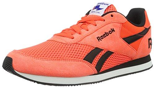 Reebok Damen Royal Classic Jogger 2RS Sneakers, Orange (Atomic Red/Black/White), 40 EU