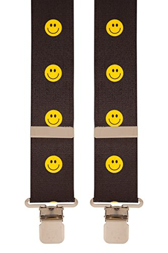 Brimarc Tools & Machinery Mens Novelty Braces (Smiling Faces)