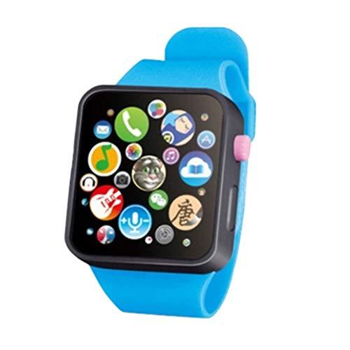 Heylas Kinder Smartwatch, Musikuhr Spielzeug Coole Spielzeuguhr, Musik Touch Button Batterie Uhr für Kinder Jungen Mädchen Geburtstag
