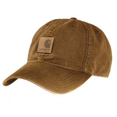 Carhartt Mens Baseball cap - Odessa Cap - Brown
