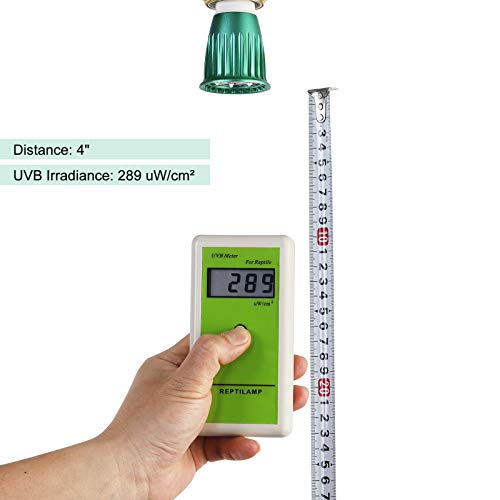 REPTILAMP UVA UVB Reptile Light Bulb, R8508 LED UV Lamp Replacement for 26 Watts UVB5.0 CFLs