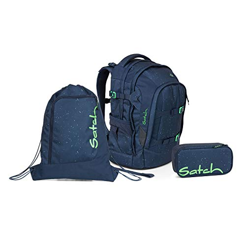 Satch Pack Space Race Schulrucksack Set 3tlg.