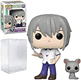 Yuki with Rat Fruits Basket Specialty Series Pop #891 Pop Animation: Fruits Basket Vinyl Figure (Bundled with EcoTEK Plastic Protector to Protect Display Box)