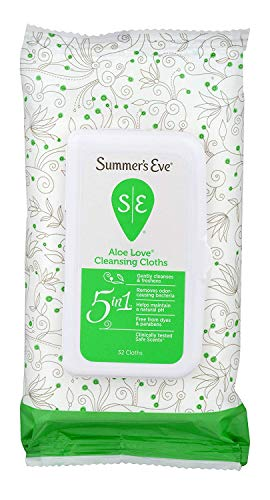 Summers Eve Cleansing Cloths 32 Count Aloe Love (3 Pack)