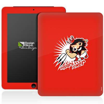 Apple iPad 1 Aufkleber Schutz Folie Design Sticker Skin Sternzeichen Wassermann Astrologie