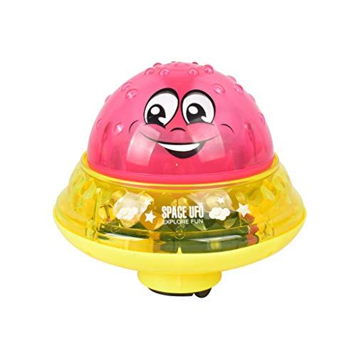Skryo👍👍 Badespielzeug Spray Wasser kann Treiben drehen mit Dusche Pool Spielzeug für Kleinkind Party (D)