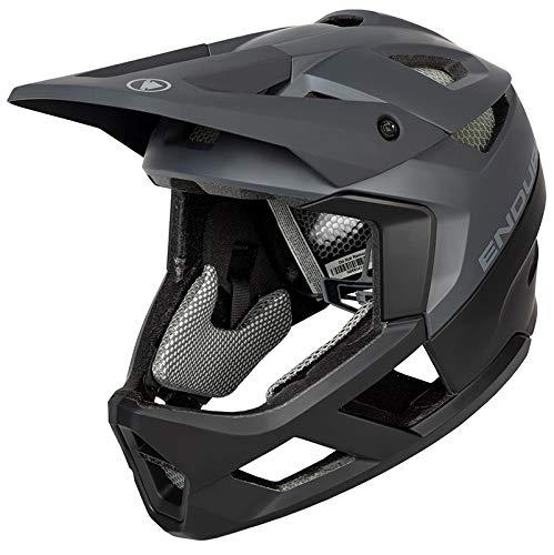 Endura MT500 Full Face Helmet Enduro Down Hill Helme (M/L 55-59 cm, Black)