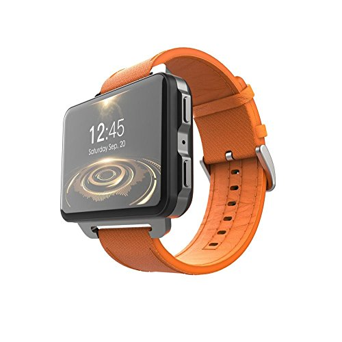 Reloj inteligente LEMFO LEM4 Pro Android 2032/5000 de Longshow, compatible con GPS tarjeta SIM MP4 Bluetooth WiFi, con pantalla de 1 GB + 16 GB de reloj.