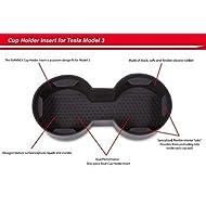 EVANNEX Cup Holder Insert for Tesla Model 3