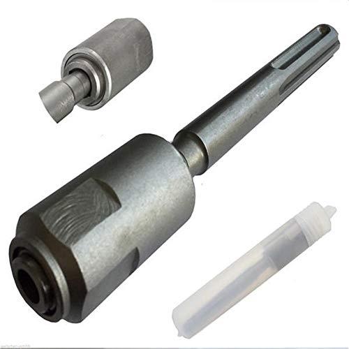 Drill Tool Chuck Adaptor Converter 10x15x200mm Chuck Adaptor Converter Fit For SDS Hammer Drill