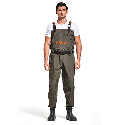 IWADER H1 Lightweight EVA Bootfoot Chest Waders
