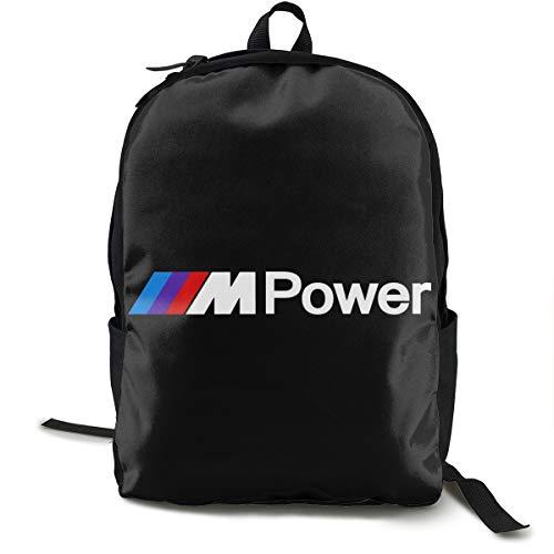 N / A B-M-W Power Paket Klassischer Rucksack Schultasche Schwarze Tasche Arbeitsreise Zur Polyester Unisex Schule