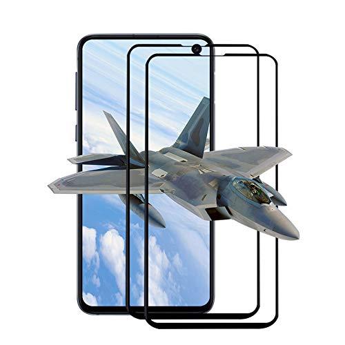 [2 Stück] Panzerglas Schutzfolie für Samsung Galaxy S10e Schutzglas, 2.5D Abgerundete, [9H Härte] [Anti-Kratze] [Anti-Fingabdrücken] [Blasenfrei] [Ultra-klar] Displayschutzfolie - Schwarz