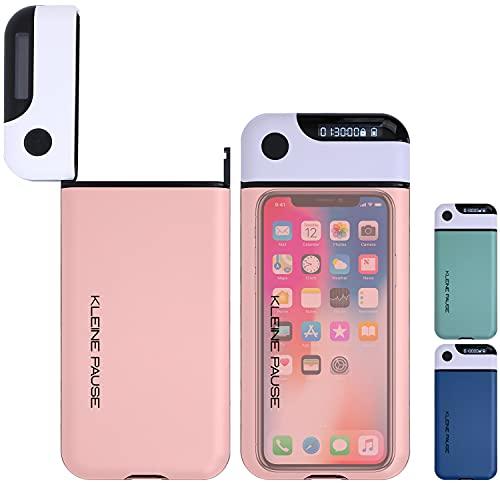 kleine Pause ® (Pink) Handy-Timer-Box | Kontrolle über Smartphone Ablenkung bei Homeoffice Hausaufgaben Einschlafen | Konzentration durch Digital Detox | iPhone, Samsung, Huawei Kompatibel