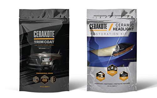 CERAKOTE Ceramic Trim Coat & Headlight Restoration Kits