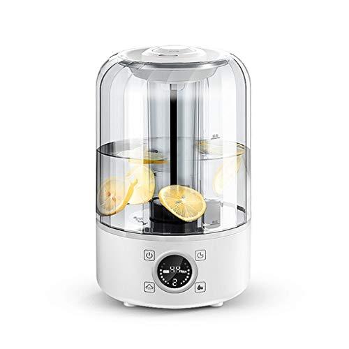 Da Dini Aromatherapie ätherisches Öl Diffusor 4L 8Hrs Aroma Diffuser mit kühlem Nebel-Befeuchter for große Zimmer, Wohnhaus, Baby-Schlafzimmer, Wasserlos automatische Abschaltfunktion
