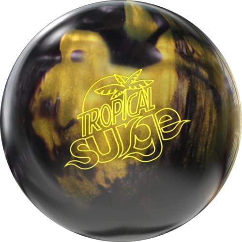 Storm Ranking TOP4 Tropical Surge shopping Bowling Ball - Black Gold 15lbs