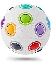Vdealen Magic Rainbow Ball Speed Cube Puzzle Ball Fidget Ball
